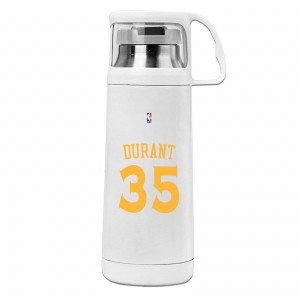 Female Kevin Durant Cover cup mug Kevin Durant Logo White