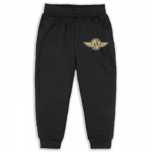 Houston Rockets Indiana Pacers Sweatpants for boys Indiana Pacers IND Black
