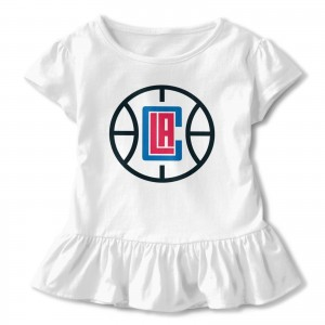 Isaiah Washington Basketball Children's Short Sleeve T-shirt Los Angeles Clippers LAC White