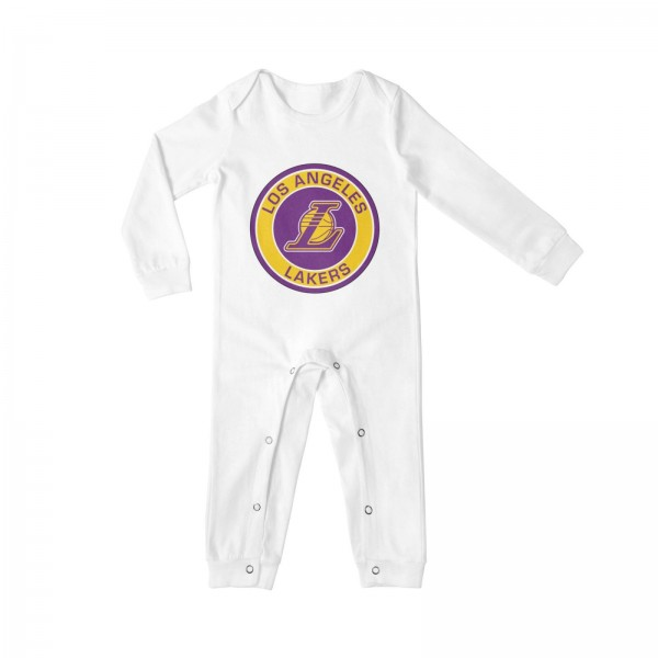 Most Nba Titles Baby Crawler Los Angeles Lakers LAL White