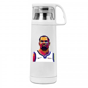 No Kd Cover cup mug Kevin Durant White