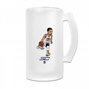 Steph Curry Deepest Threes Frosted Beer Cug Basket Ball Backgrounds Stephen Curry For 2019 Transparent
