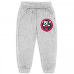 Tennessee State Basketball Sweatpants for boys NBA Chicago Bulls CHI Gray