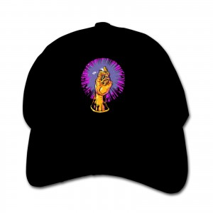 Thanos And Children's hats Infinity Gauntlet Oh Snap! Black