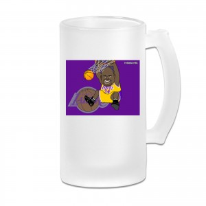 Ucsb Basketball Frosted Beer Cug Shaquille O'Neal Transparent
